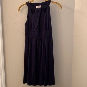 Ann Taylor LOFT Navy Dress